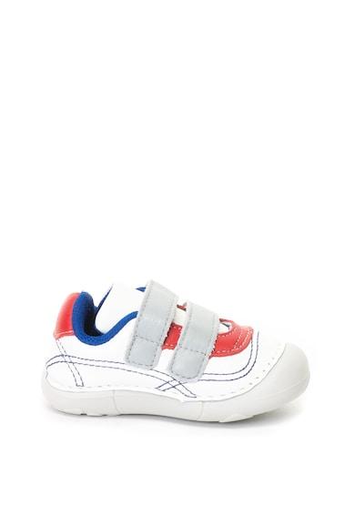 bibi kids Pantofi sport de piele cu velcro Grow Baieti