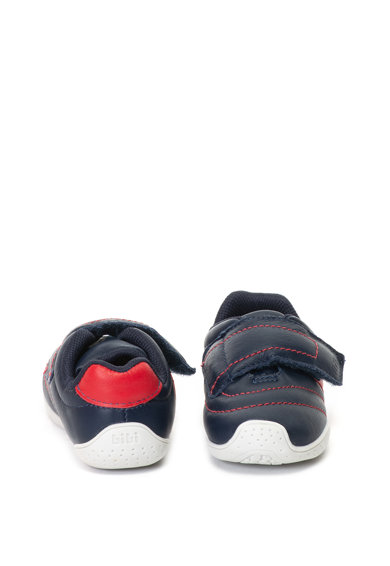 bibi kids Pantofi sport de piele cu velcro Baieti