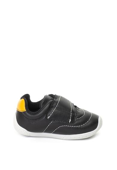 bibi kids Pantofi sport de piele, cu velcro si fisioflex Baieti