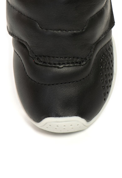 bibi kids Pantofi sport de piele cu velcro si fisioflex 3.0 Baieti