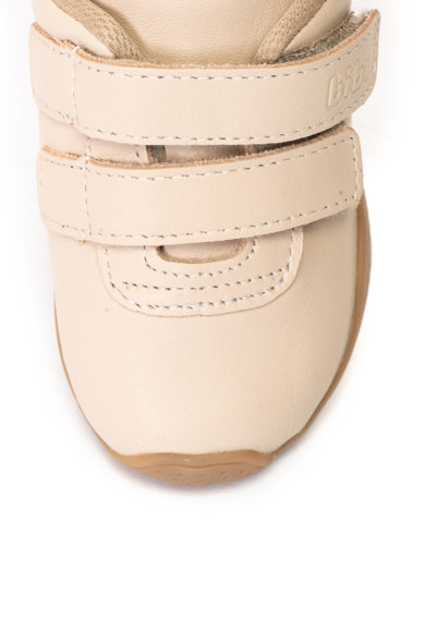 bibi kids Pantofi sport de piele cu velcro Fisioflex Baieti