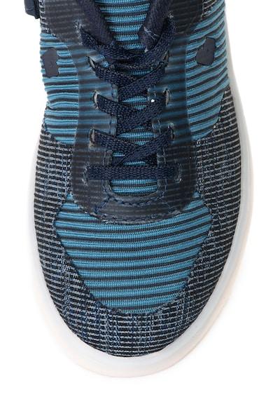 bibi kids Pantofi sport din material textil cu LED-uri Cliqu3 Baieti