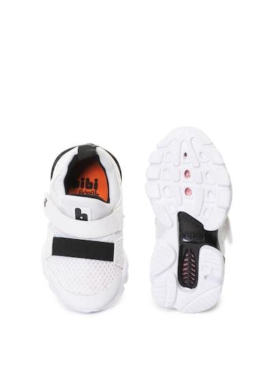 bibi kids Pantofi sport slip-on cu brant Fisioflex Drop New Baieti