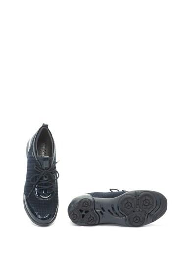 Geox Nebula bebújós sneakers cipő kötött hatással női