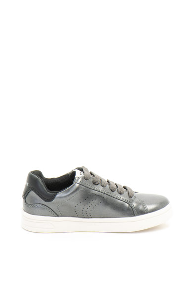 Geox Kilwi fémes hatású ökobőr sneakers cipő Lány