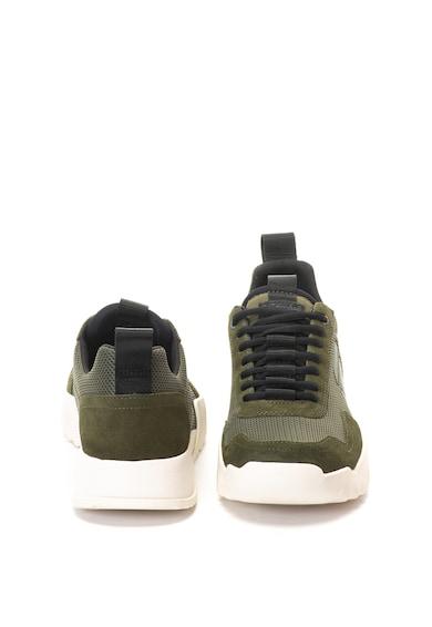 G-Star RAW Pantofi sport cu garnituri de piele intoarsa Rackam Rovic Barbati