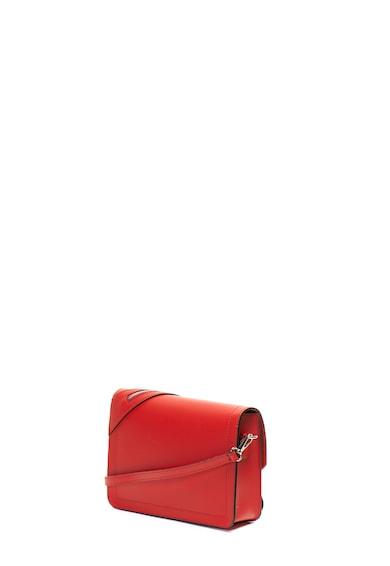 Antonia Moretti Кожена чанта с декоративен цип Жени