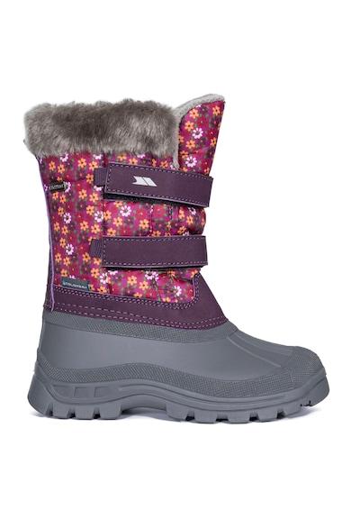 Trespass Cizme medii de iarna cu imprimeu floral si Coldheat® Vause Fete