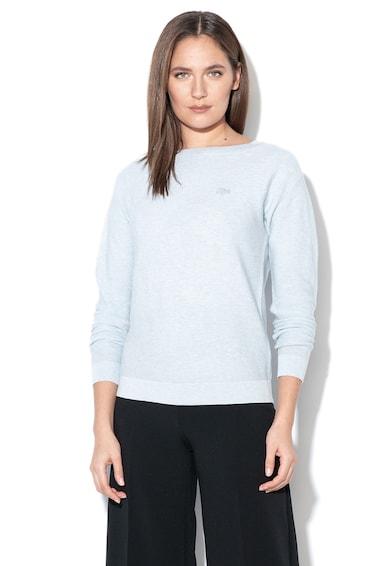Lacoste Csónaknyakú finomkötött pulóver női