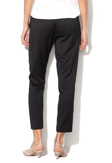 Tom Tailor Texturált crop nadrág rugalmas derékrésszel női