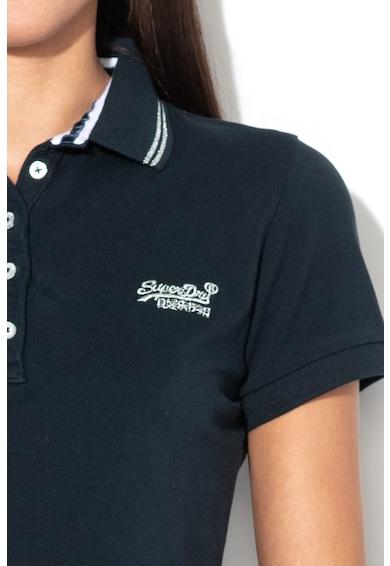 SUPERDRY Tricou polo clasic cu logo brodat Femei