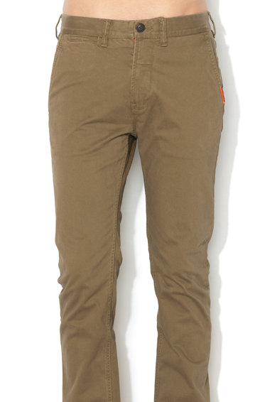 SUPERDRY Pantaloni chino straight fit International Barbati