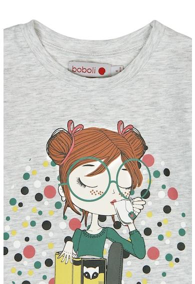 boboli Блуза с фигурална щампа Момичета