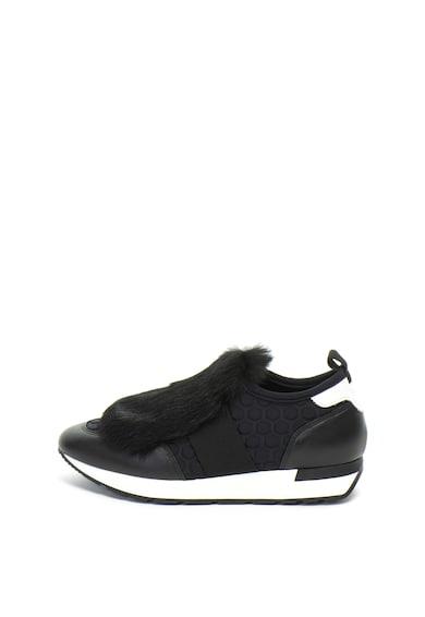 Pollini Спортни обувки без закопчаване, с еко пух Жени