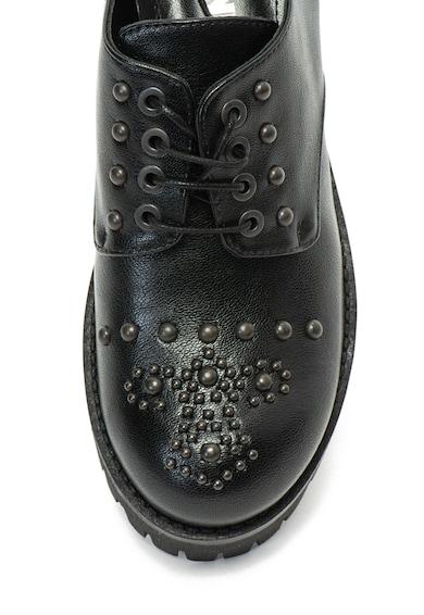 Pollini Обувки Brogues от еко кожа с капси Жени