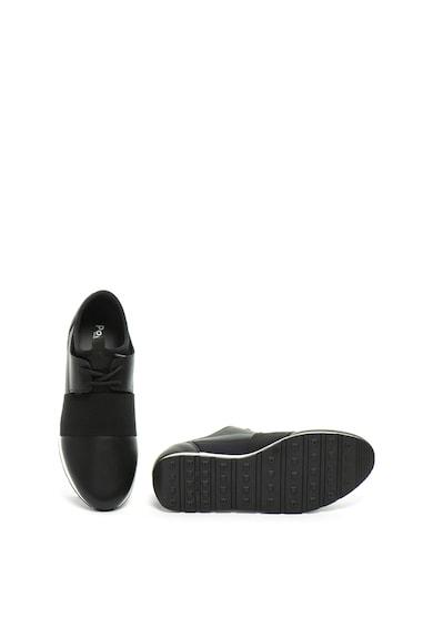 Pollini Спортни обувки от кожа и неопрен без закопчаване Жени
