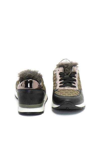 Pollini Релефни спортни обувки с еко пух Жени