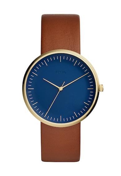 Fossil Часовник Essentialist с кожена каишка Мъже