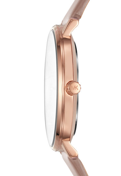 Michael Kors Часовник Pyper с кожена каишка Жени