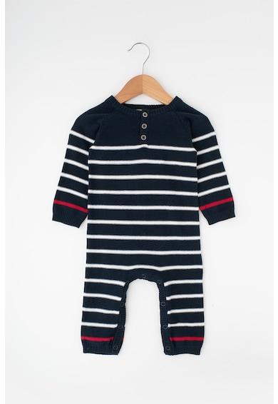 NAME IT Salopeta din tricot, cu dungi Modims Baieti