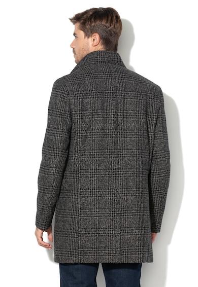 Mosto gyapjútartalmú kabát 1 - Selected Homme (16064355-GREY) 0176406101