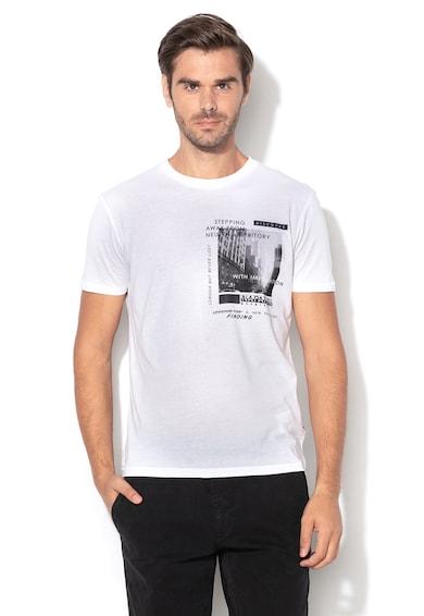 Napapijri Selva grafikai mintás póló férfi