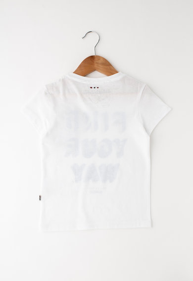 Napapijri Tricou cu imprimeu text Siping Fete