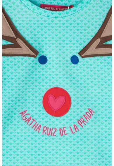 Agatha Ruiz de la Prada Bluza cu aplicatii grafice Laponia Fete