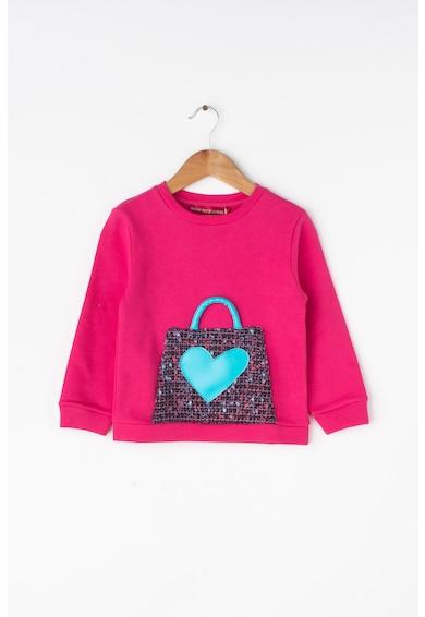 Agatha Ruiz de la Prada Bluza sport cu aplicatie cu inima Fete