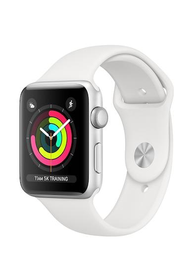 Apple Watch 3, GPS, Carcasa Space Grey Aluminium 38mm, Black Sport Band Femei