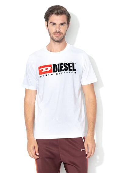 Diesel Tricou cu aplicatie logo Just Division Barbati