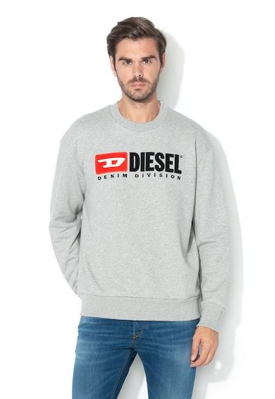 Diesel Bluza sport cu logo brodat S-Crew-Division Barbati