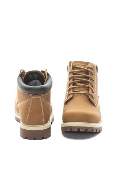 Skechers Bocanci de piele ecologica, cu Memory Foam Amado Barbati