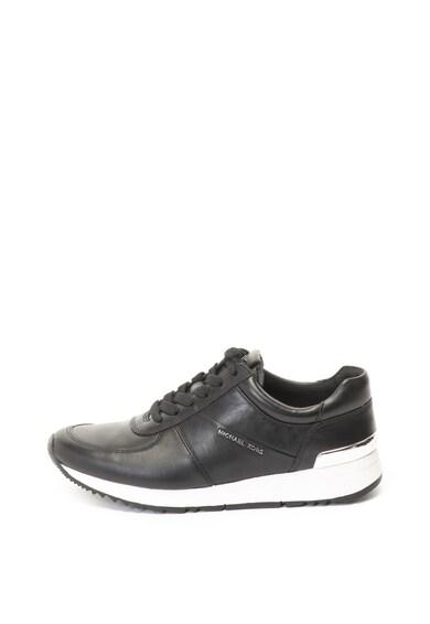 Michael Kors Allie bőr sneakers cipő logórátéttel női