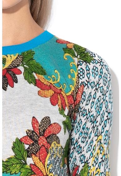 DESIGUAL Tramajapo virágmintás pulóver női