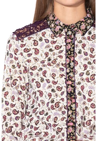 DESIGUAL Konya ing horgolt betétekkel női