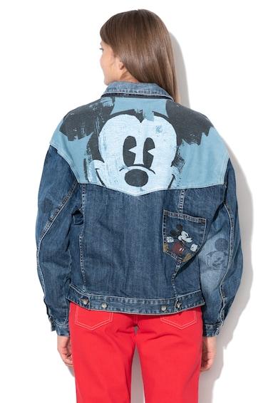 DESIGUAL Mickey farmerdzseki koptatott mintával női