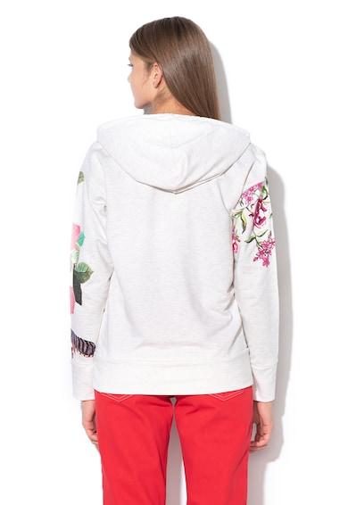 DESIGUAL Vanity kapucnis pulóver mintával női