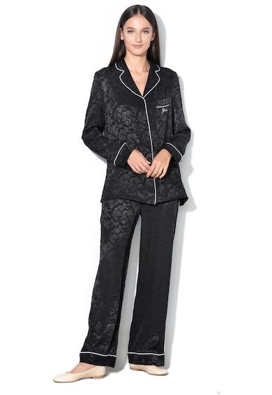 Szatén pizsama hímzett logóval - Guess (O84X00-WP00L-A996) 4056029367