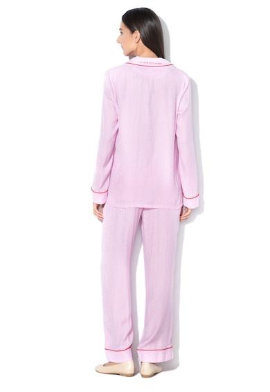 Szatén pizsama hímzett logóval - Guess (O84X09-WO028-G480) 839c50849b