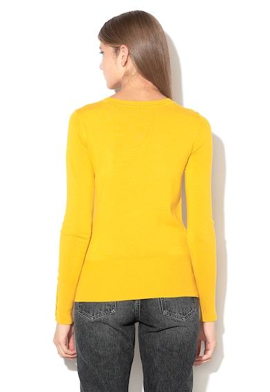 Pulover din tricot fin cu strasuri GUESS JEANS (W84R95-Z2760-G266 ... ed594b32f1