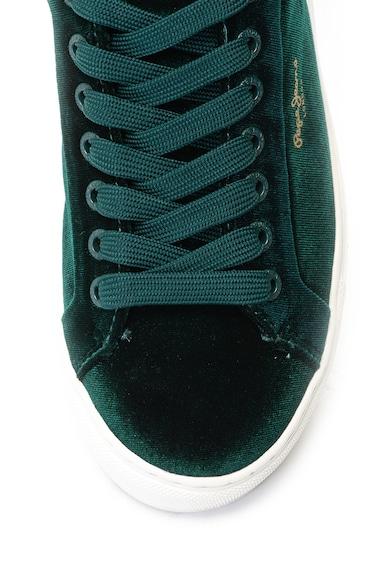 Pepe Jeans London Adams cipő krokodilbőr hatású betétekkel női