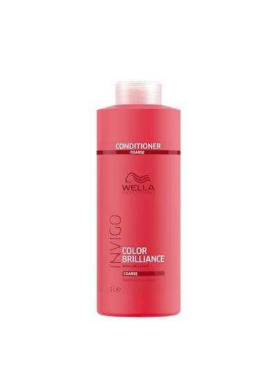Wella Professionals Balsam  Invigo Color Brilliance Coarse pentru par vopsit cu structura puternica Femei
