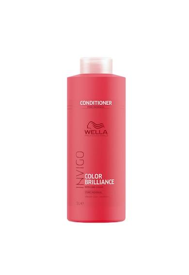 Wella Professionals Balsam  Invigo Color Brilliance Fine/Normal pentru par vopsit cu structura subtire/normala, Femei