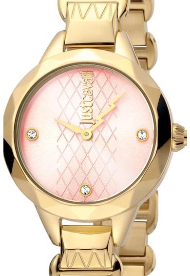 JUST CAVALLI Аналогов часовник с кристали Жени