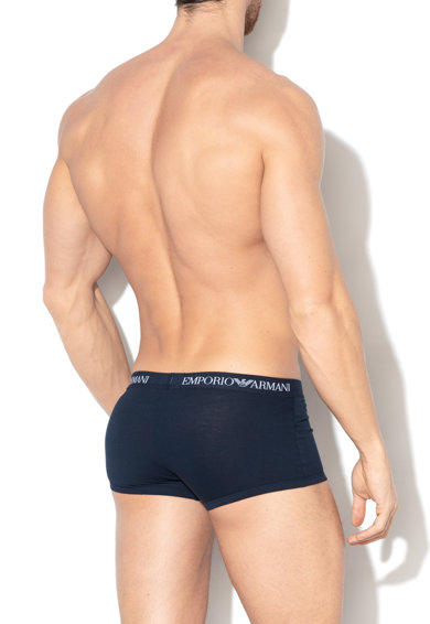 Emporio Armani Underwear Боксерки с лого на талията, 3 чифта Мъже