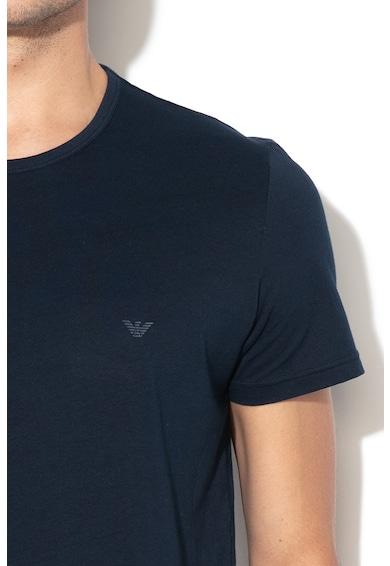 Emporio Armani Underwear Set de tricouri de casa din bumbac - 2 piese Barbati