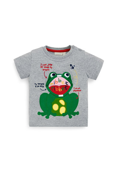 JoJo Maman Bebe Тениска с щампа Момчета