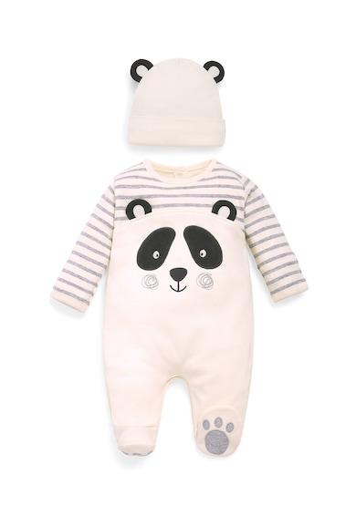 JoJo Maman Bebe Гащеризон тип ританки с дизайн на панда Момчета