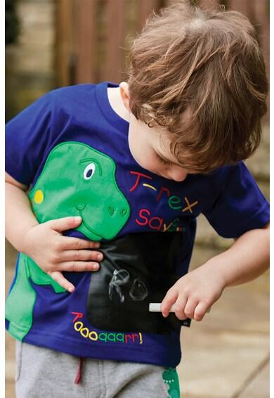JoJo Maman Bebe Tricou cu imprimeu cu dinozaur Baieti